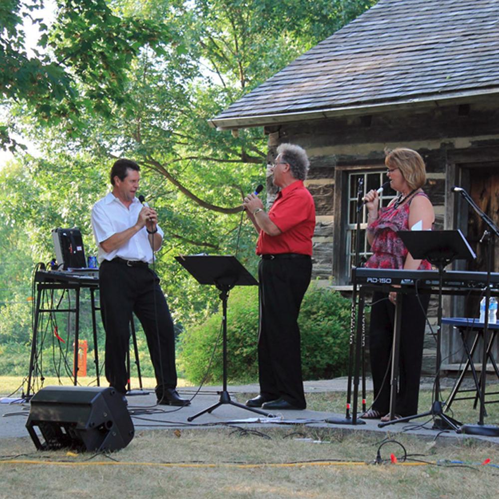 Crimson River Canada 1 performing at happy green acres gospel jamboree